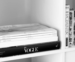 vogue, fashion, and book image