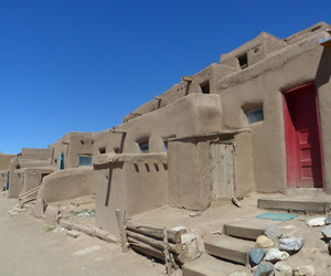adobe, construction, and new mexico image