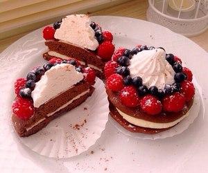 berries, food, and cupcake image