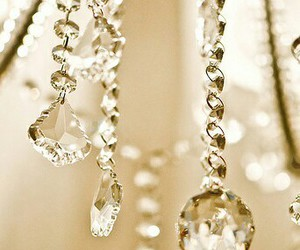 chandelier, crystal, and decor image