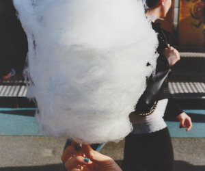 food, cotton candy, and candy image