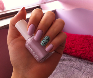 leopard, nail art, and essie image