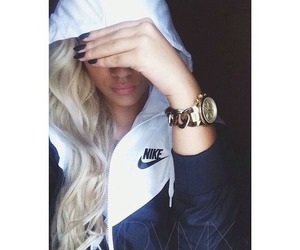 blonde, fashionable, and girl image