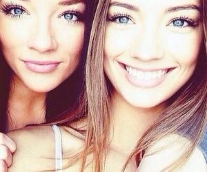 girl, eyes, and smile image