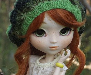 beret, pullip, and cute image