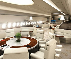 inside, luxe, and plane image