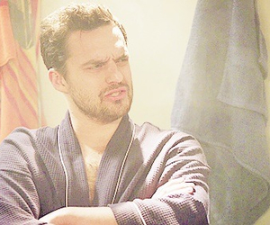 new girl, jake johnson, and nick miller image