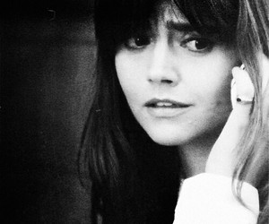 black and white, doctor who, and jenna coleman image