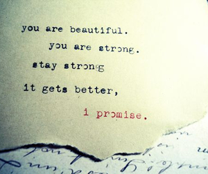 beautiful, quote, and stay strong image