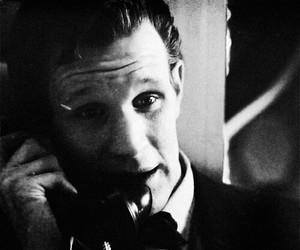 black and white, deep breath, and doctor who image