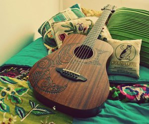 guitar and spring image