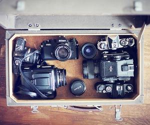 camera, nikon, and collection image