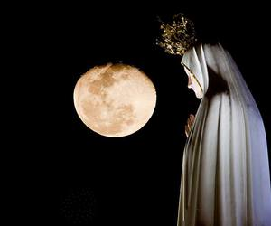 moon and our lady of fatima image