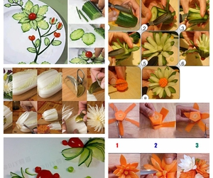 diy, flower, and vegetable image