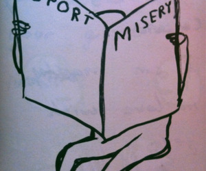 sport, misery, and newspaper image