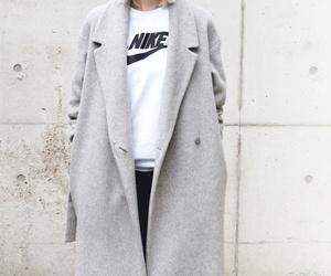 nike, fashion, and coat image