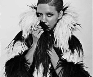 beautiful, lykke li, and black and white image