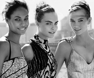 cara delevingne, Karlie Kloss, and girl image