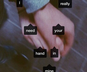 love, hand, and couple image