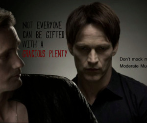 bill compton, Eric Northman, and true blood image
