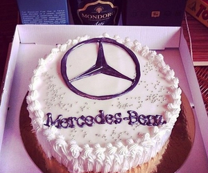cake, mercedes, and nice image