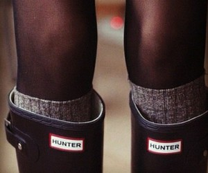 hunter, boots, and fashion image