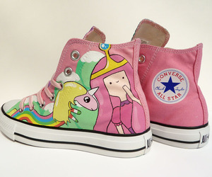 converse, shoes, and adventure time image