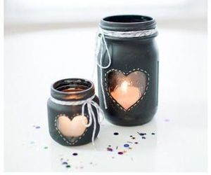 diy, candle, and black image