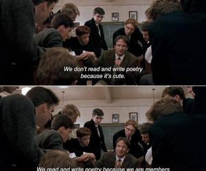 dead poets society, poetry, and passion image