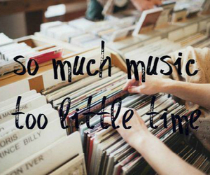 music, time, and quotes image