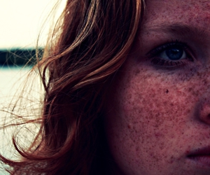 alone, ginger, and beautiful image