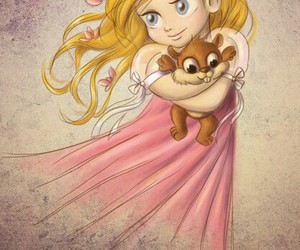 baby, disney, and giselle image