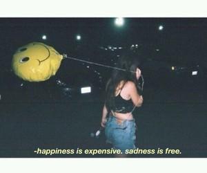 sad, happiness, and sadness image
