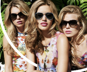 blond, friend, and model image