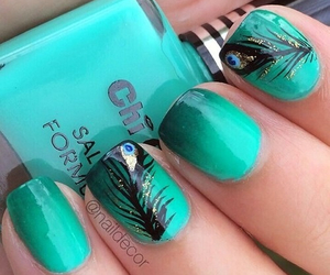fashion, nails, and magnifique image