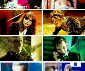 Collage, colorful, and doctor who image