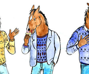 drawn, drawning, and horse image