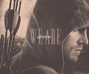arrow, cw, and dc comics image