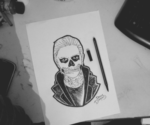 drawing, ahs, and american horror story image