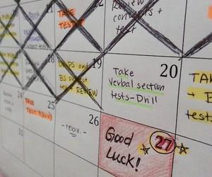 good luck, organization, and plan image