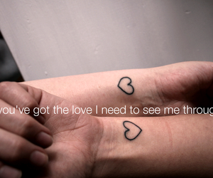 tattoo, love, and you and me image