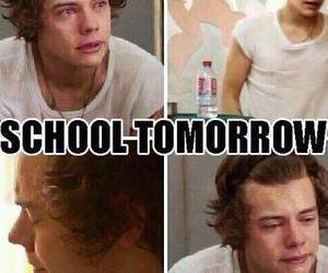 school, tomorrow, and harry image