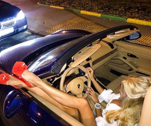 girl, blonde, and luxury image