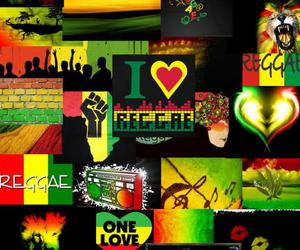 green, reggae, and red image