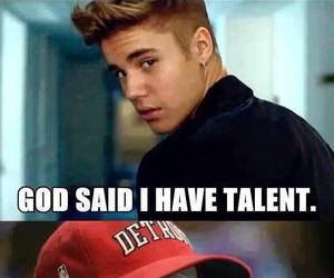 eminem, justin bieber, and god image