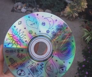 cd, grunge, and tumblr image