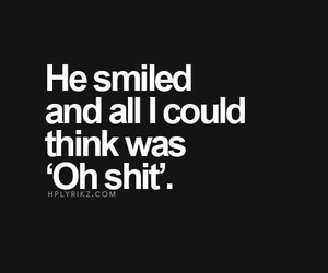 him and smile image
