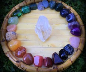 crystal, stones, and sunglasses image