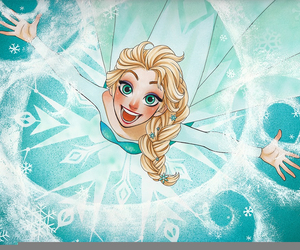 disney, elsa, and frozen image