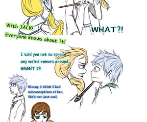 jack frost, disney, and frozen image